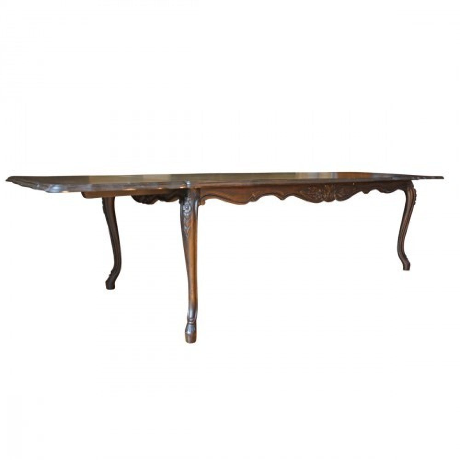 Fremarc Carved French Dining Table - image-0