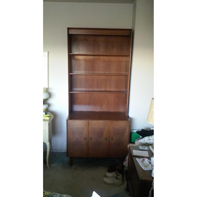 Danish Wooden Bookcase - image-2