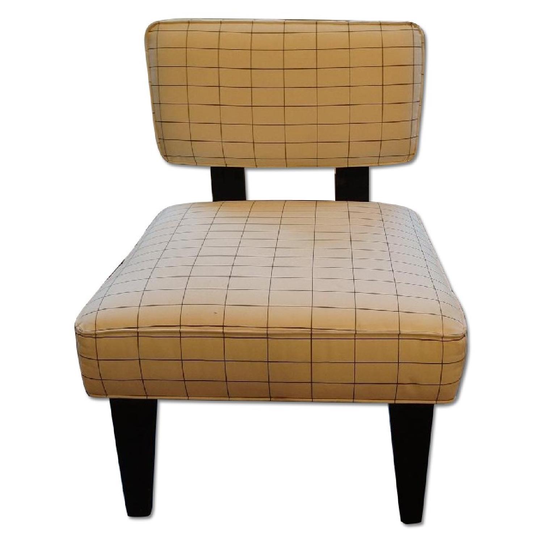West Elm Striped Chair