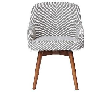 West Elm Saddle Swivel Office Chair