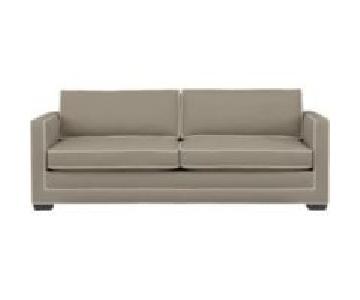 Crate & Barrel Trace Queen Sleeper Sofa