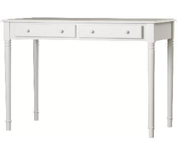Andover Mills Pinckneyville White Wood Desk