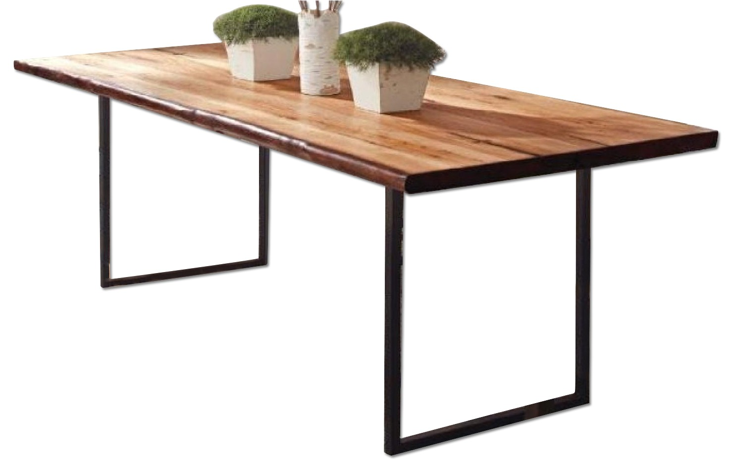 Coaster Natural Edge Wide Dining Table