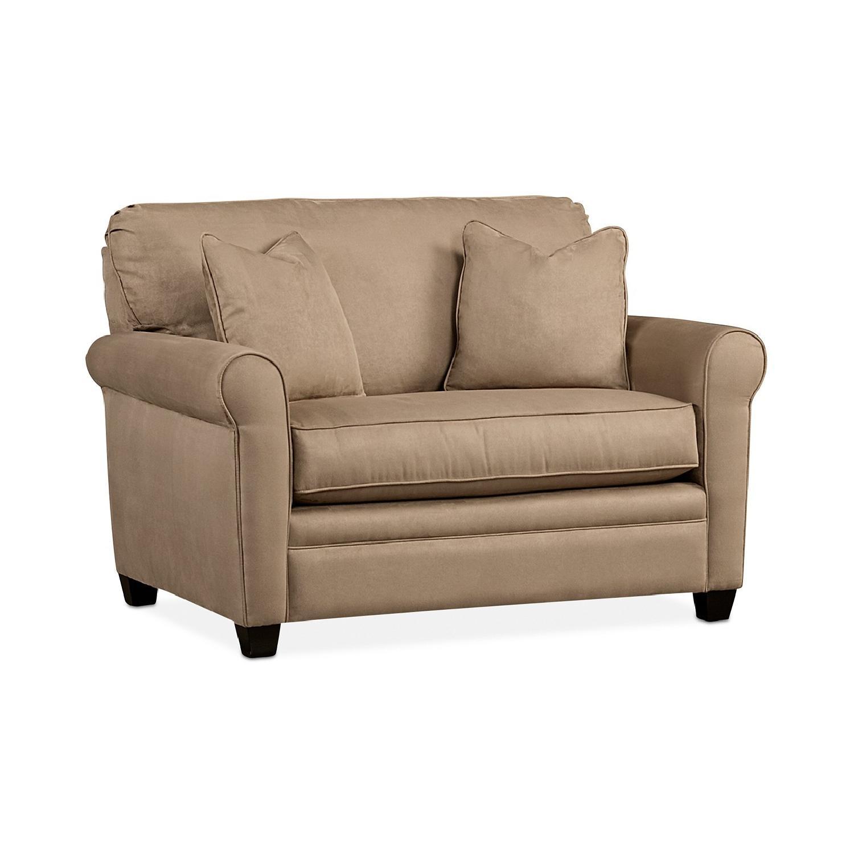 Macyu0027s Kaleigh Twin Sleeper Sofa In Stone Color ...