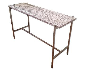 Four Hands Distressed Console Table