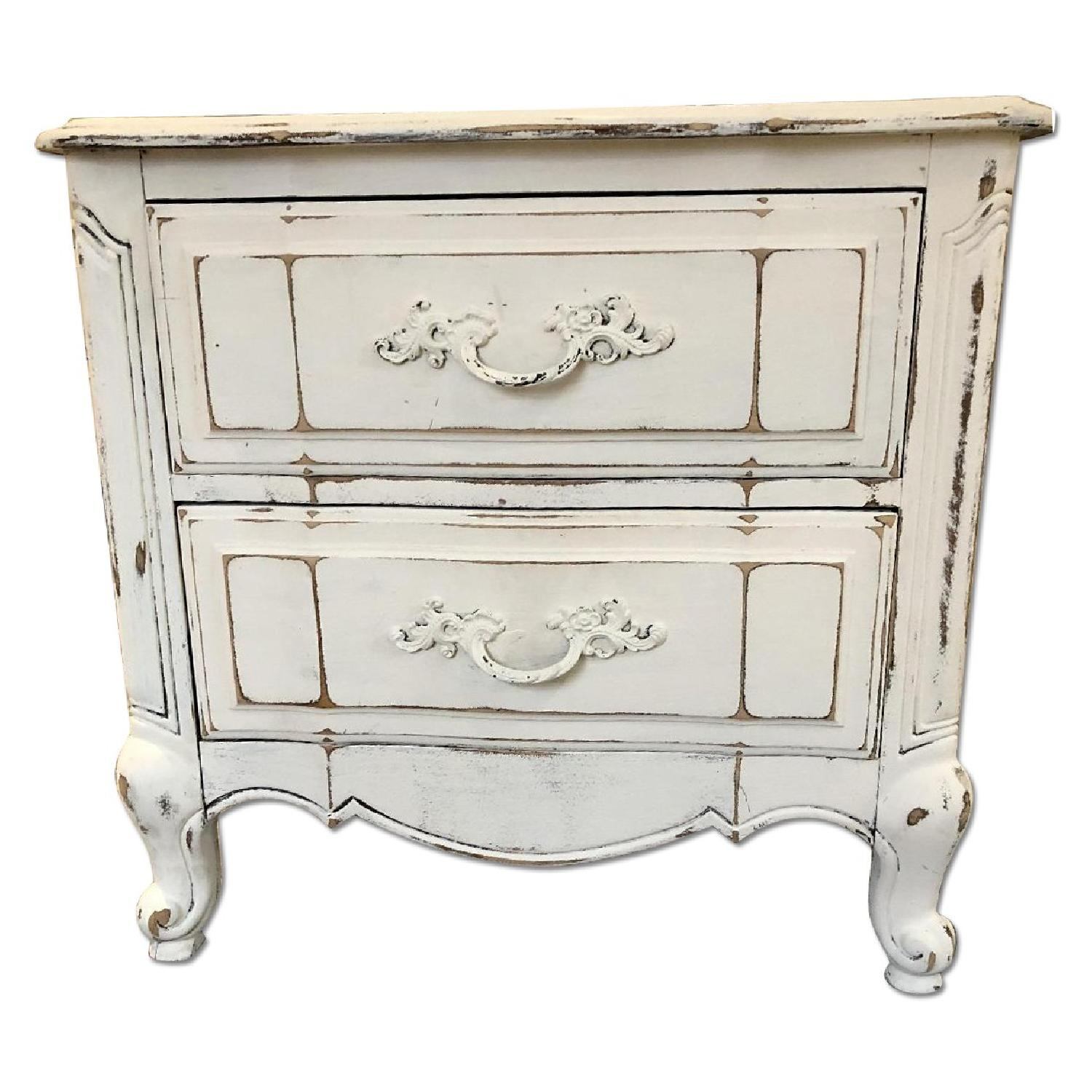Refinished Rustic Antique Nightstand