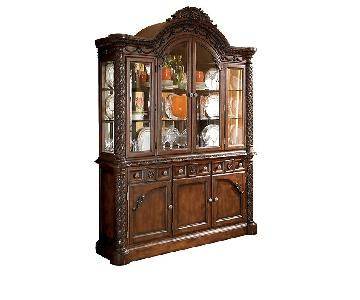 Ashley North Shore China Cabinet