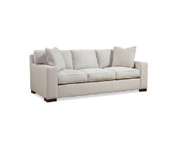 Macy's Bangor Down Fabric Sofa