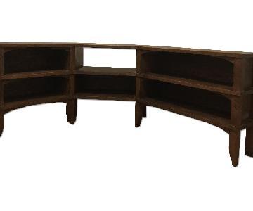 Wooden Corner Unit/Credenza