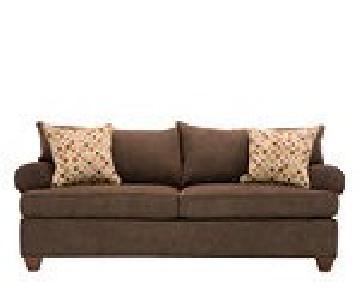 Raymour & Flanigan Vegas Brown Sleeper Sofa