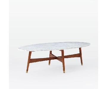 West Elm Reeve Marble Coffee Table