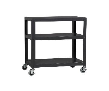 CB2 Go-Cart Rolling Cart