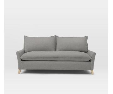 West Elm Bliss Gray Sofa