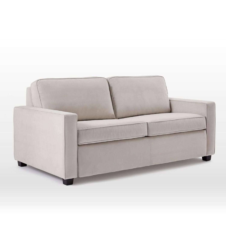 West Elm Henry Queen Sleeper Sofa Aptdeco ~ Leather Sleeper Sofa Queen