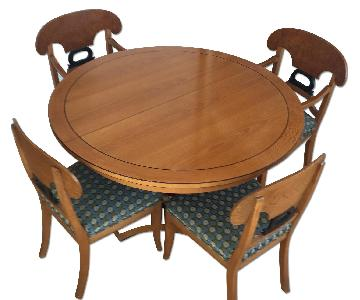 ABC Home Baker Biedermeier Style 5-Piece Dining Set