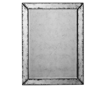 Restoration Hardware Antiqued Glass Mirror