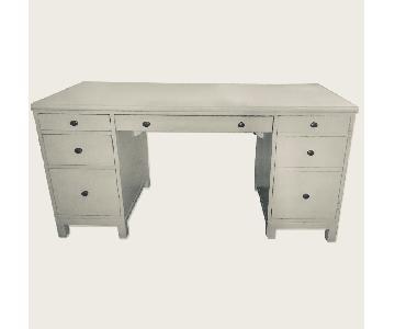 Ethan Allen Tango Double Pedestal Desk