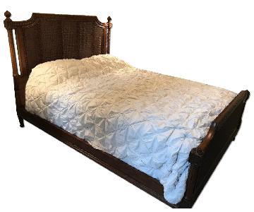Ethan Allen Elise Queen Bed Frame