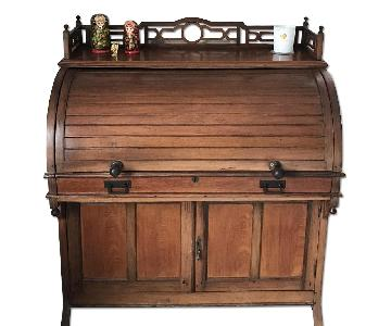 Antique American 1850s Desk