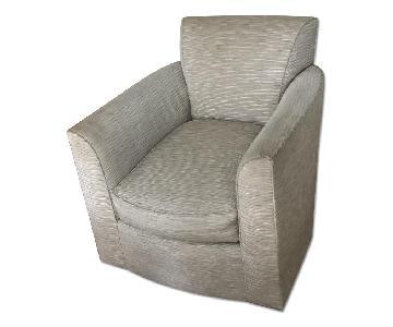 Custom Made Grey Armchair