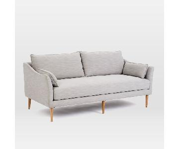 West Elm Antwerp Sofa in Frost Gray