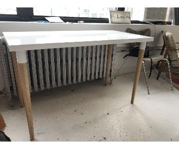Ikea LINNMON Desk Table w/ Wood Legs