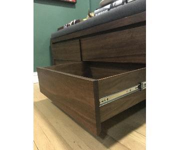 Solid Walnut Dresser