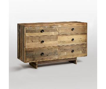 West Elm Reclaimed Wood Emmerson 6-Drawer Dresser