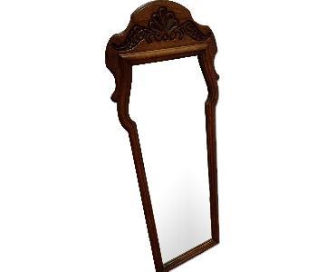 Fancher Wood Framed Mirror