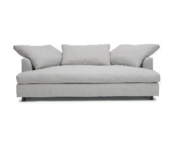 Mitchell Gold + Bob Williams Big Easy Sofa in Grey/Silver