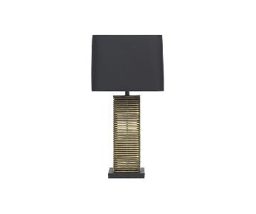 Mitchell Gold + Bob Williams Madison Table Lamp in Black