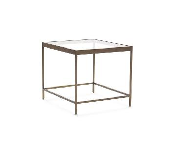 Mitchell Gold + Bob Williams Vienna Side Table in Dark Brown