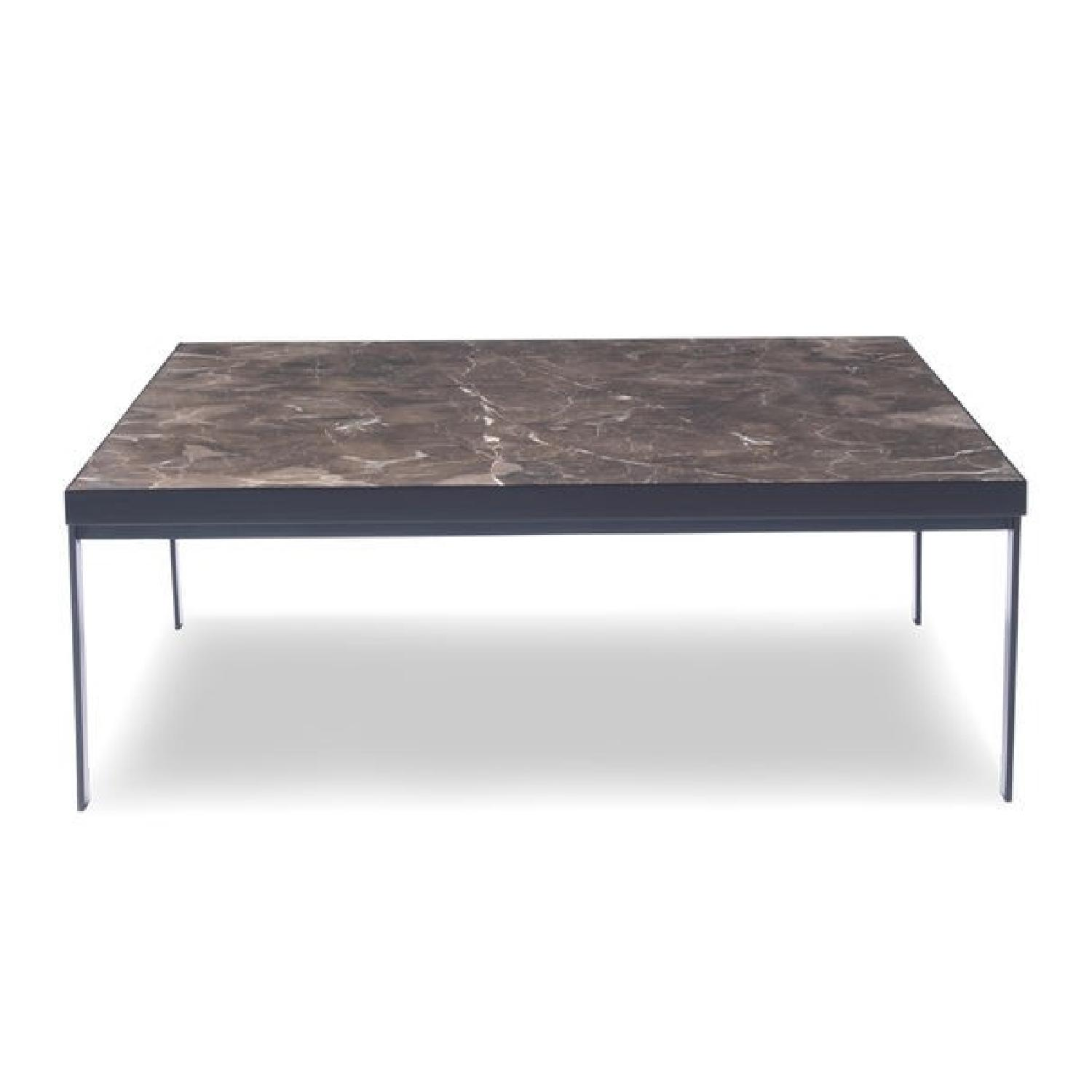 Mitchell Gold + Bob Williams Square Cocktail Table in Black-0