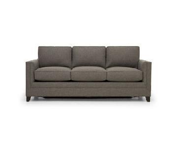 Mitchell Gold + Bob Williams Reese Sleeper Sofa in Dark Grey
