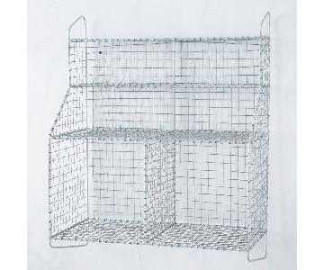 West Elm Wire Mesh Organizer