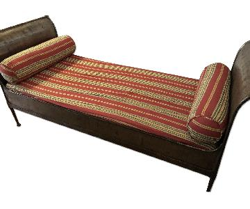 Antique Napoleon Campaign Daybed