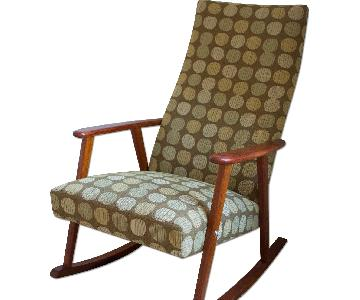 Mid Century Modern Johanson Rocking Chair