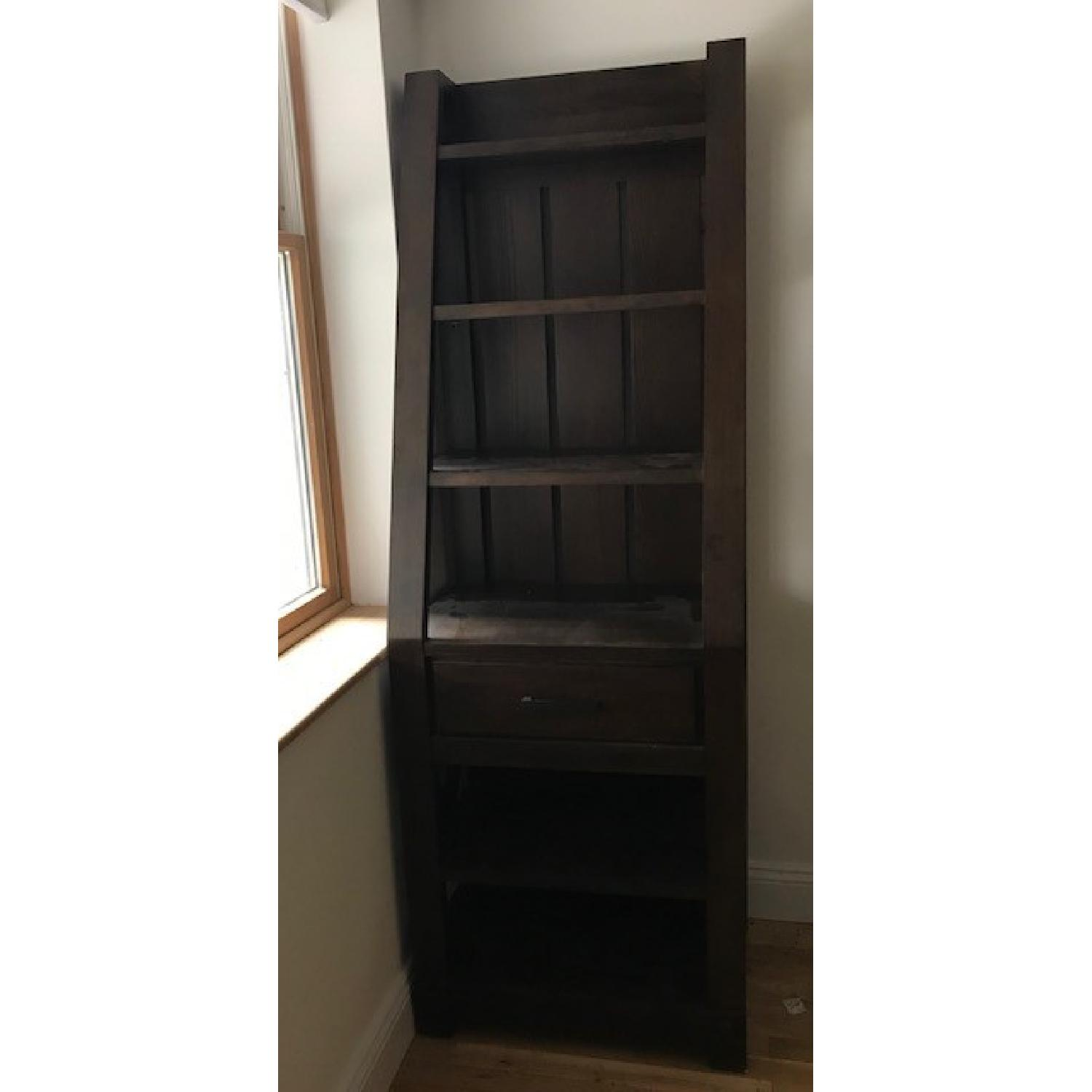 Raymour & Flanigan TV Entertainment Center w/ Bookshelves-2