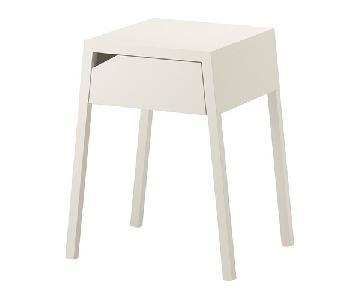 Ikea Selje Nightstand in White