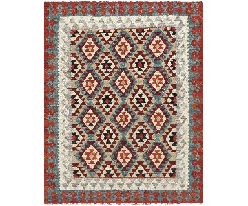 New Turkish Hand Woven Kilim