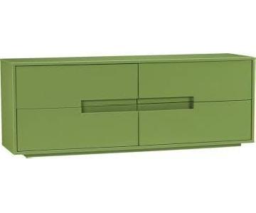 CB2 Latitude Green Low Dresser