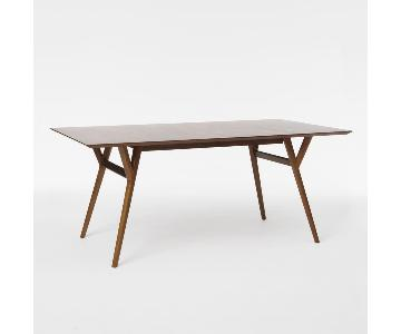 West Elm Expandable Wood Dining Table