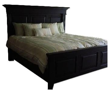 Thomasville King Size Bed Frame w/ Headboard & Footboard