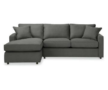 Room & Board York Guest Select Sleeper Sectional Sofa