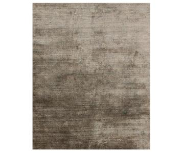 Mitchell Gold + Bob Williams Shimmer Parchment Rug in Brown