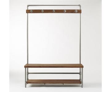 West Elm Pipeline Coat Rack