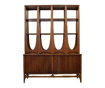 Broyhill Furniture Brasilia Mid-Century Room Divider/Cabinet