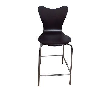 West Elm Scoop-Back Bar Stool