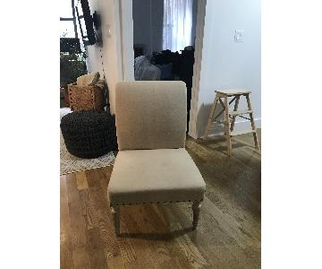 Nadeau Upholstered Accent Chair with Billets