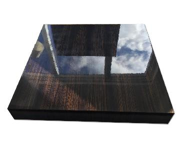 Arte Facto Zebra Wood Coffee Table